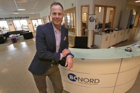 PÅTROPPENDE: Kurt Figenschau er ny administrerende direktør i Bonord.