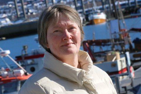 - KUNNE ENDT FATALT: Fisker Mari-Ann Johansen ble reddet av en sikkerhetsline.
