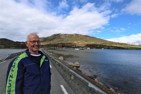 GRUNNEIER: Inge Pettersen og utviklingslaget har jobbet i flere år jobbet for å få boligbygging i Kvaløyvågen.