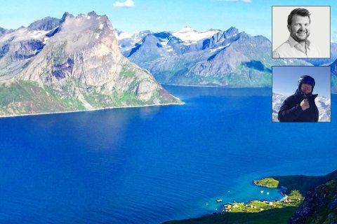 SESSØYA: Idyllisk øy utenfor Tromsø.