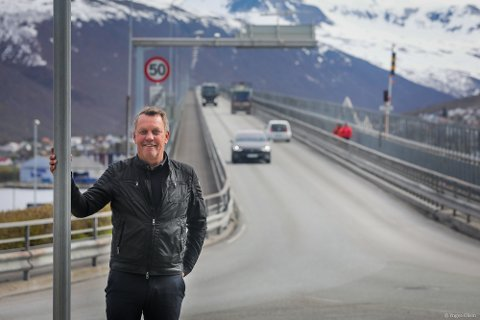 FORNØYD: Ordfører Gunnar Wilhelmsen.