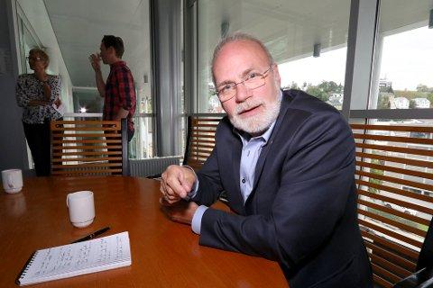 LEDER UTVALGET: Hans Petter Kvaal (H) er leder av kommunens kontrollutvalg.