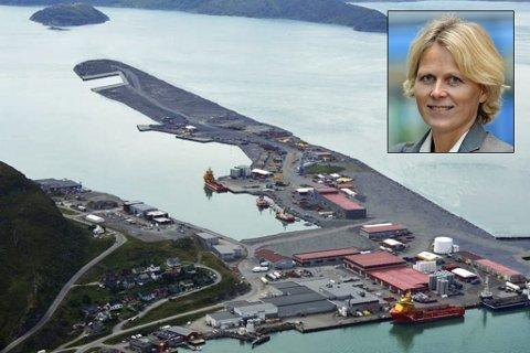 LEVERANDØR: Polarbase i Hammerfest. Innfelt: Siri Kindem, Equinor.