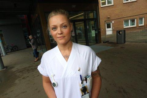 KUTT, KUTT, KUTT: Tonje Randisdatter Tunstad (Ap) er politiker og sykepleier - og kjenner hvordan kutt påvirker hverdagen som sykepleier.