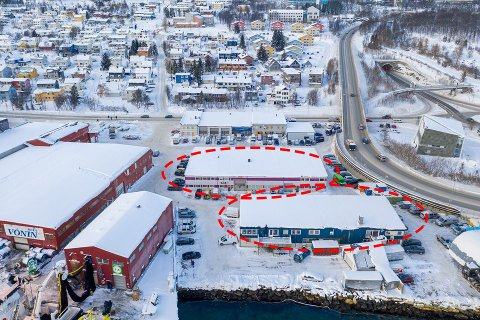 SOLGT: Stakkevollvegen 69 B og 69 E er solgt til samme kjøper. I det blå bygget gjelder salget bare halve bygget. Her eier VVS 24 resten.