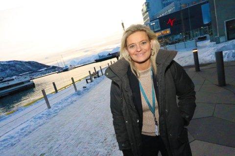 I TROMSØ: Annika Olsen er fiolinist, tidligere landsslagssvømmer og utdannet gymnaslærer, men har vært toppolitiker og visestatsminister de seneste årene. Nå er hun borgermester i hovedstaden Tórshavn på Færøyene – en av få steder i Arktis som opplever befolkningsvekst.