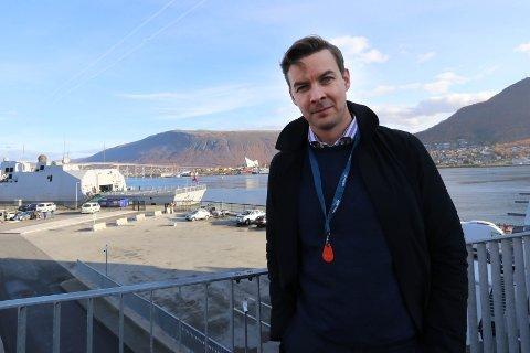 HJEMMEHAVN: Det er Tromsø som er båtenes hjemmehavn, og det er fortsatt her Nergård har sitt hovedkontor. Kenneth Holmøy leder havfiskedelen av konsernet.