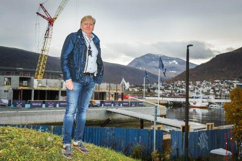 ETTERLYSER RAMMER: Assisterende justis og kommunaldirektør hos Fylkesmannen, Per Elvestad, ber Tromsø kommune om å komme med en ramme for hvor byutviklingen skal skje.