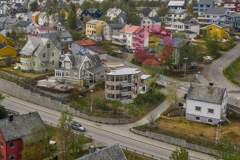 TIL SALGS: Den tidligere eieren av eiendommen har lagt betydelige ressurser i utviklingen av den. Nå er hele prosjektet til salgs.