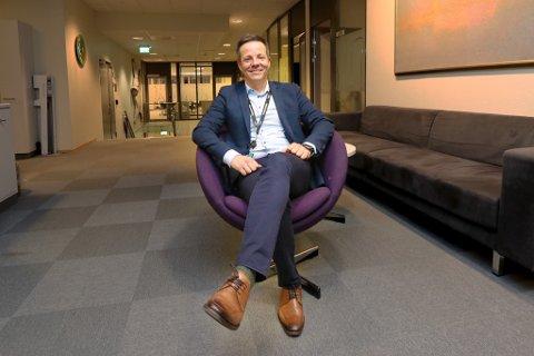 HÅNDTERER DE RIKESTE KUNDENE: Nils Petter Hansen, DNB Private Banking i Tromsø.