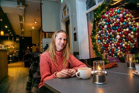 HJEMMETREND VOKSER: Hege Edvardsen har skapt seg et navn som boligstylist i Tromsø, og driver AS-et Hege E Home. Markedet for boligstylister har vokst i Tromsø seinere årene.