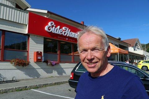 IKKE HELT BLAKK: 48 millioner er borte ifølge skattelistene, men Bård Even Pettersen forteller at det har sine naturlige forklaringer.