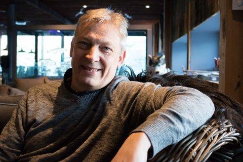 Øyvind Sollie, daglig leder på Kirkenes Snowhotel.