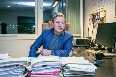 FLERE KRAV PÅ VEI: Advokat Roar Bårdlund er bostyrer for konkursen. Han venter fortsatt ytterligere krav inn til boet etter konkurs i byggefirma.