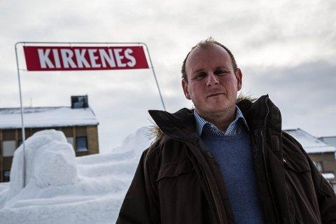 SKUFFET: Regionleder i LO i Troms og Finnmark, Bjørn Johansen.