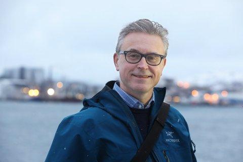 BLIR FISKERIMINISTER: Odd Emil Ingebrigtsen blir i dag utnevnt til fiskeriminister.
