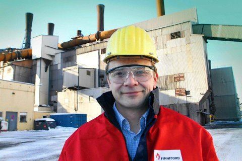 TJENER MER PENGER: - Men et finansmarked i panikk er aldri bra, mener Geir Henning Wintervoll ved Finnfjord AS.
