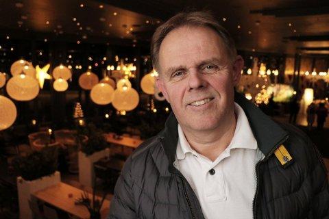 OPTIMISTISK: Direktør på Ishavshotellet, Poul-Henrik Remmer. Arkivfoto: Bengt Nielsen