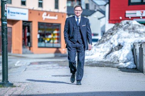MERKER DET, MEN....Rode Rønning-Hansen driver en av Tromsøs mest lønnsomme advokatkontor.