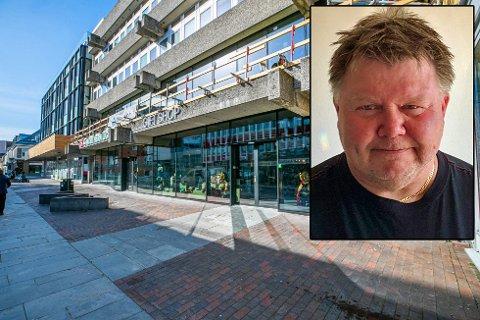 SATSET: Bent A. Hansen venter seg tøffe tider i Tromsø framover. Ikke bare for seg selv, men hele lokalbefolkningen.