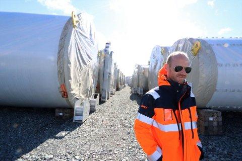 IKKE FERDIG: Stephan Klepsland i Nordlys Kraft, mener kommunen er i overkant ivrig med å drive inn eiendomsskatt.