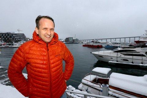 TIL LYNGEN: Erik Joachimsen har fått ny jobb.