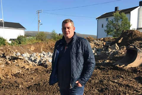 FORHANDLER: Svein-Ole Wilsgård i Masterworks Construction forhandler med kreditorene.