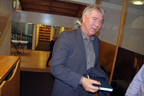 GIR SEG: Ulf Johansen fratrer som styreleder torsdag.