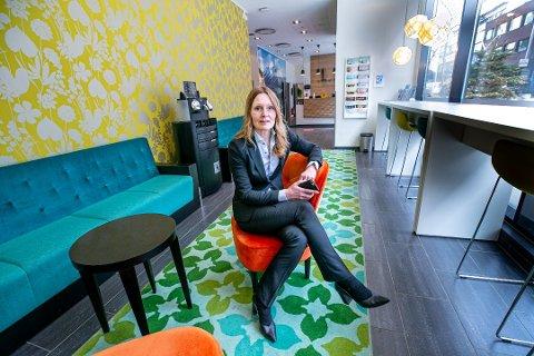 HOTELLDIREKTØR: Aid Schei Lillegård ved Thon Hotel Tromsø