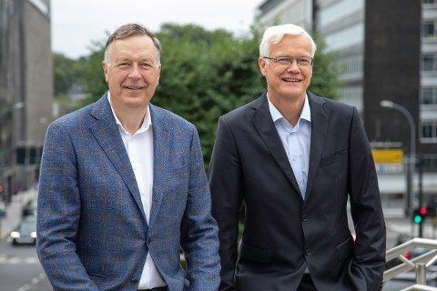 USA-AVTALE: Gerth Munthe og Øystein Rekdal.