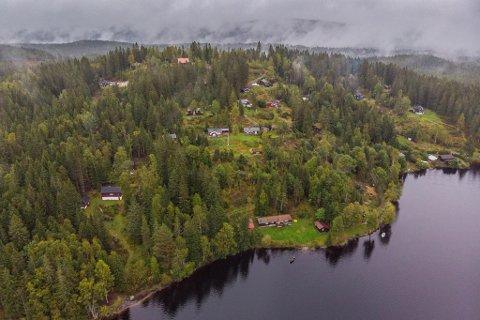 Nordmarka, Daniel Skjeldam, hytte
