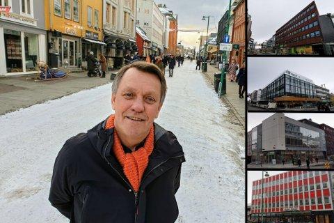 SALG: Ordfører og eiendomsinvestor, Gunnar Wilhelmsen, er i ferd med å selge fire sentrumseiendommer i Tromsø.