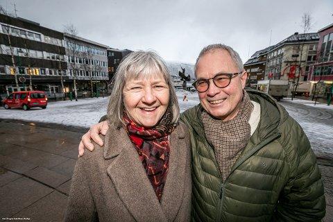 HAVOGFJELL.Marit Mydland og Vidleif Johansen. Lanserer nytt gigantprosjekt.
