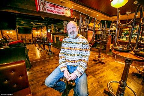 KOM UT I PLUSS: Harry Granås eier og driver tre utesteder sammen med kompanjong Trond Schicora. De holdt seg flytende gjennom koronaåret 2020.
