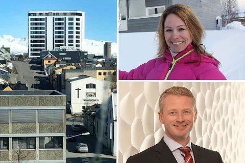 KJØPTE: Kristina Bratrein og Ørjan Nilsen kjøpte to enheter i  nye Seolseilet for tilsammen 15,6 millioner kroner.