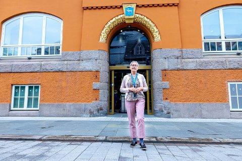 SAMFUNNETS UTBYTTEPENGER: Konsernsjef Liv Ulriksen i Sparebanken Nord-Norge sier at det er et innmari vanskelig regnestykke. – Vi har en god regnskapsmessig rapportering, sier Ulriksen.