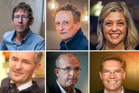 SAMFUNNSKAPITAL: Rolf Eigil Bygdnes, Roar Dons, Sif Vik, Kjell Olav Pettersen, Hans Olav Karde, Tor Lægreid