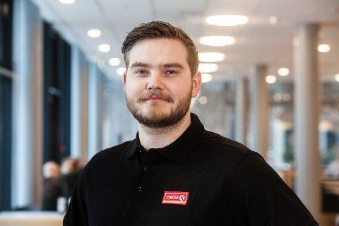 TALENT: Alf Harald Brøndbo er i mål med den toårige utdannelsen i Circle K Norge.