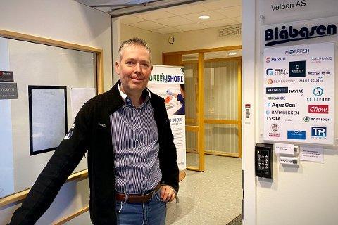 NY JOBB: Øyvind Prestvik har fått ny jobb. 47-åringen fra Namsos skal utvikle nye forretningsmuligheter for Cflow.