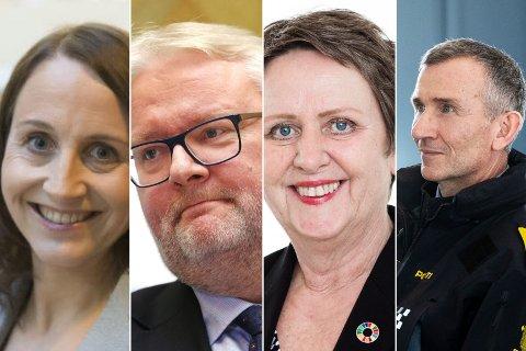 MILLIONLØNN: Marit Helen Stigen, Frank Jenssen, Vigdis Harsvik og Nils Kristian Moe befinner seg på topp 20 i lønnsoversikten for 2019.
