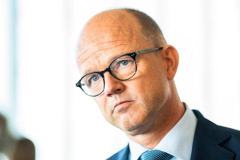 ADVARER: NHO-sjef Ole Erik Almlid frykter konsekvensene hvis det oppstår ny diskusjon om EØS-avtalen nå.