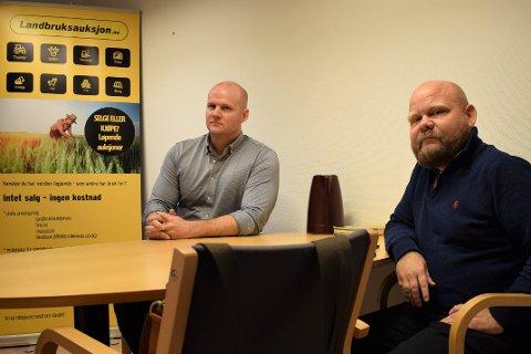 Landbruksauksjon, Øyvind Sotberg og Bjørn Hojem