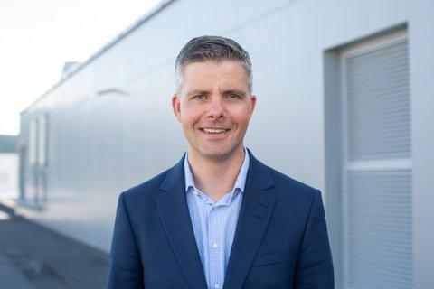 NETTSJEF: For Odd-Eirik Grøttheim, konserndirektør for telekom i NTE, gir de nye smitteverntiltakene merkbare utslag i trafikken.