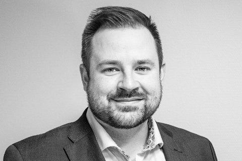 KAPTEIN PÅ SALGSLAGET: Villiam Ovesen er ny salgssjef i Learning Moment Technologies.