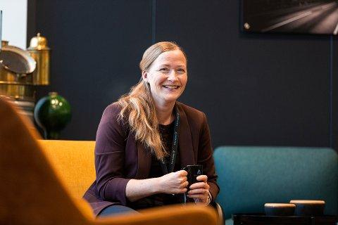 BYTTER JOBB: Trude Vareide Giskås går fra Telenor til Inam.