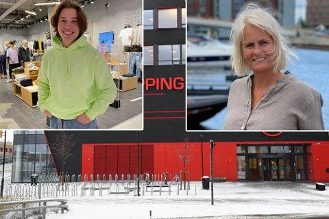 STOR DAG: Sirkus Shopping åpner to nye butikker torsdag. Thomas Vollan Østerlie og  Turid Lien skal lede dem.