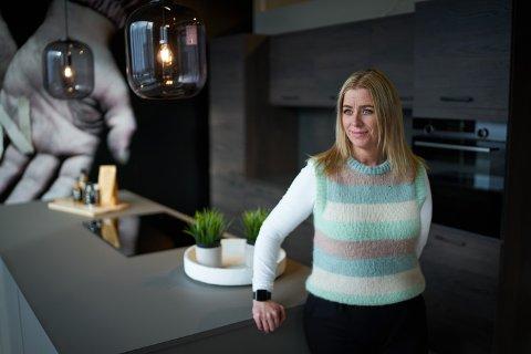 FRARÅDET: Jannicke Løding ble frarådet å starte interiørbedrift. Nå har hun drevet eget firma i fem år.