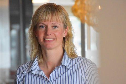PÅ PLASS: Ragnhild Wendelbo Melgård er godt i gang med jobben som rådgiver ved Norconsults nye avdeling i Rørvik.