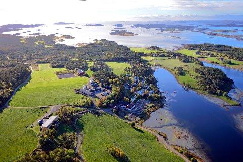 EU-STØTTE: Val vgs i Nærøysund leder EU-prosjektet som skal gjøre ny kunnskap om havbruksteknologi tilgjengelig for lærere, elever og oppdrettere.