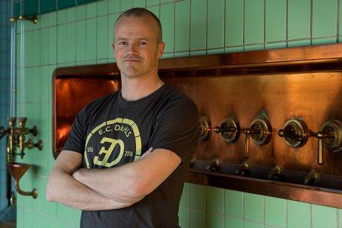 TILBAKE: Bryggeriet er tungt eksponert mot utelivet i Trondheim og regionen i rundt. Nå håper E. C. Dahls-sjef Erik Norgård at det triste kapittelet er tilbakelagt.